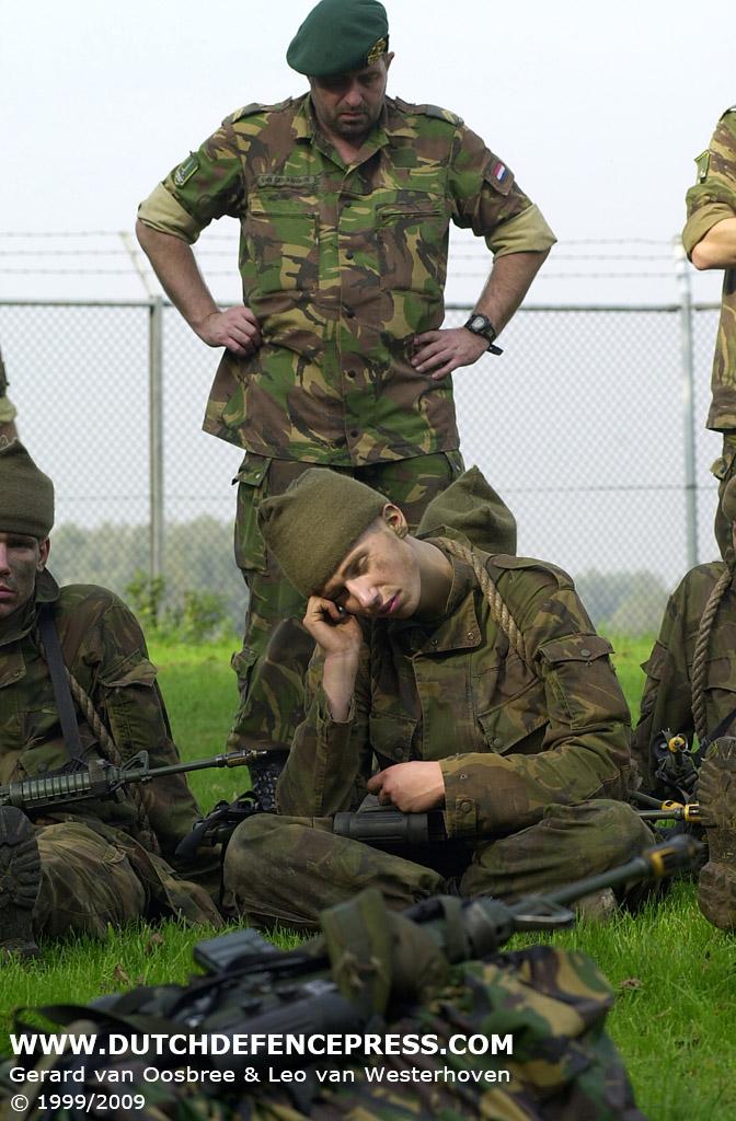 Elementaire Commando Opleiding Waar Cursist Voor Een Aspirant