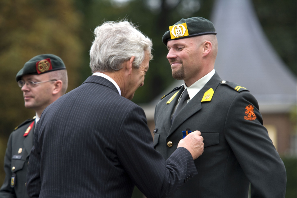 derde rang soldaat van oranje
