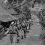 Dagelijkse sleur- patrouille lopen
