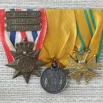 Medailles Orde en Vrede, dienstjaren